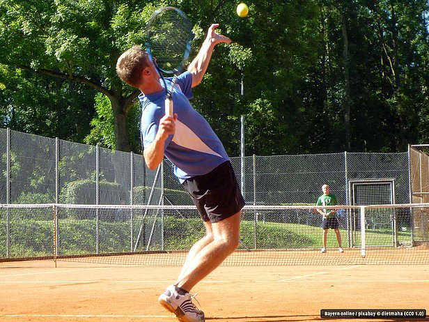 Tennis in Bad Alexandersbad im Fichtelgebirge