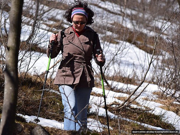 Nordic Walking in Betzenstein ..