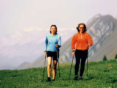 Nordic Walking in Inzell im Chiemgau