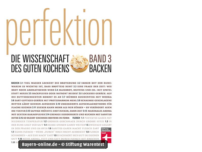Backen for Kochbuch backen